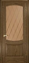 Лаура 2 (Светлый мореный дуб, стекло)