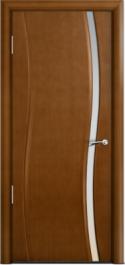 Двери Milyana Omega Анегри ст. узкое белое
