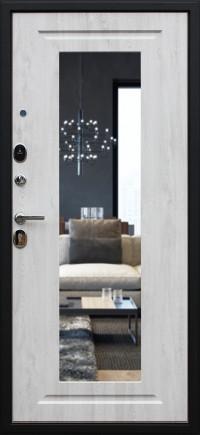 Стальная дверь «Гермес NEW» с зеркалом ELIT