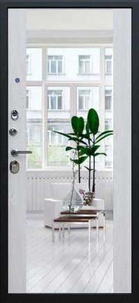 Стальная дверь «Виват с зеркалом»