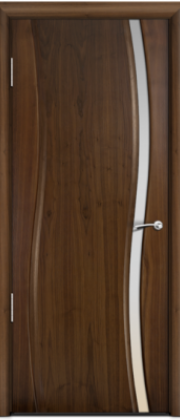 Milyana Omega Американский орех ст. узкое белое
